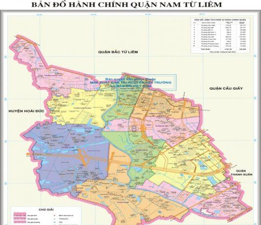 Giới thiệu khái quát quận Nam Từ Liêm