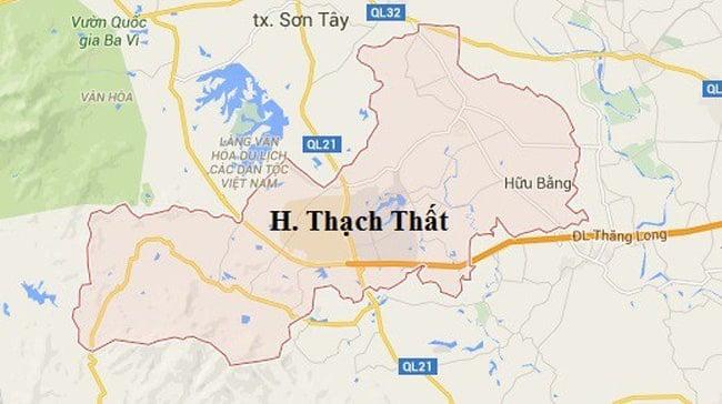 Giới thiệu khái quát huyện Thạch Thất