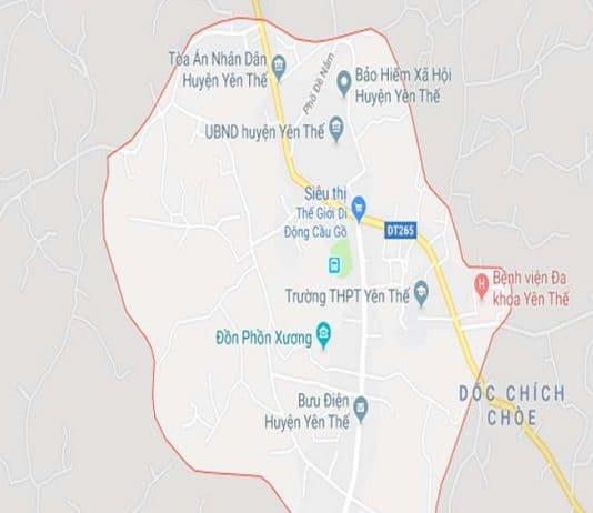 Giới thiệu khái quát huyện Yên Thế