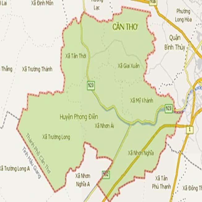 Giới thiệu khái quát huyện Phong Điền