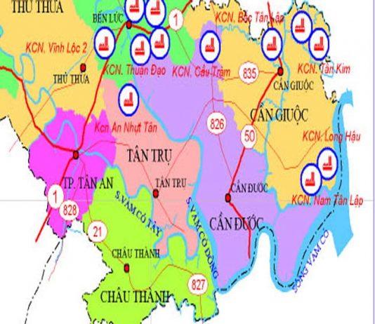Giới thiệu khái quát huyện Cần Đước