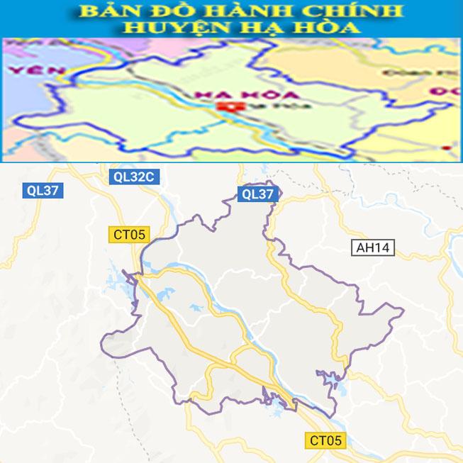 Giới thiệu khái quát huyện Hạ Hòa