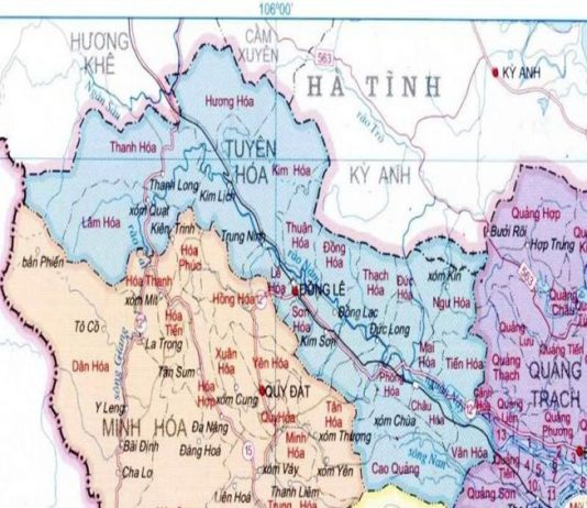 huyện Tuyên Hóa - Tỉnh Quảng Bình