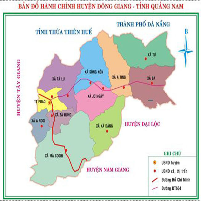 huyện Đông Giang - Tỉnh Quảng Nam
