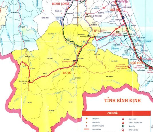 Giới thiệu khái quát huyện Ba Tơ - Tỉnh Quảng Ngãi