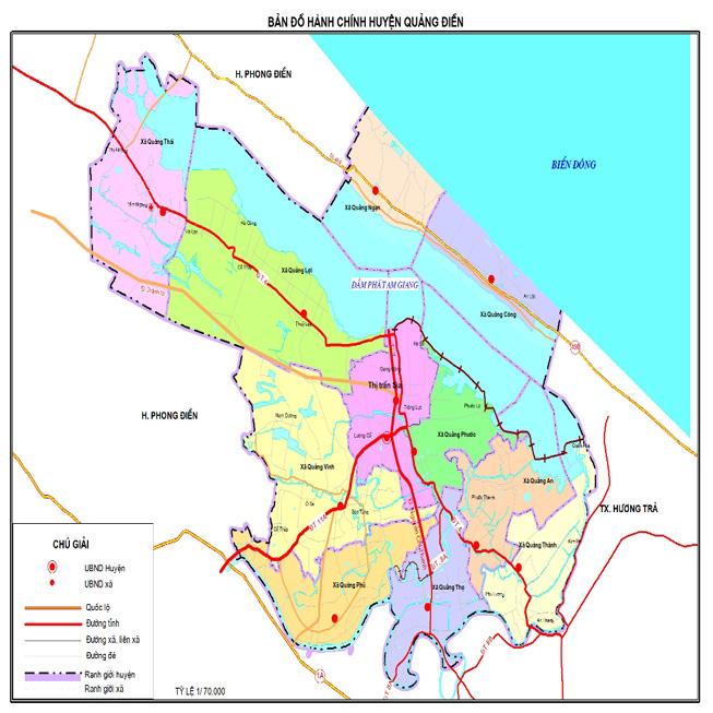 huyện Quảng Điền - Tỉnh Thừa Thiên Huế