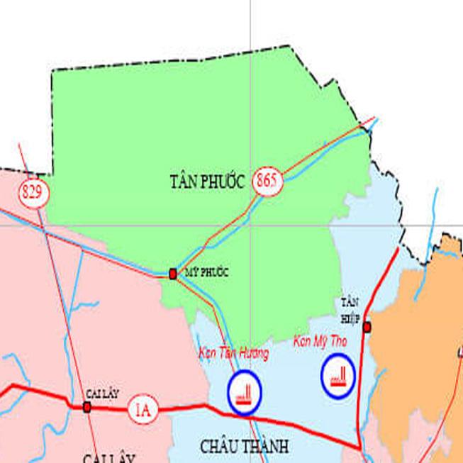 huyện Tân Phước - Tỉnh Tiền Giang