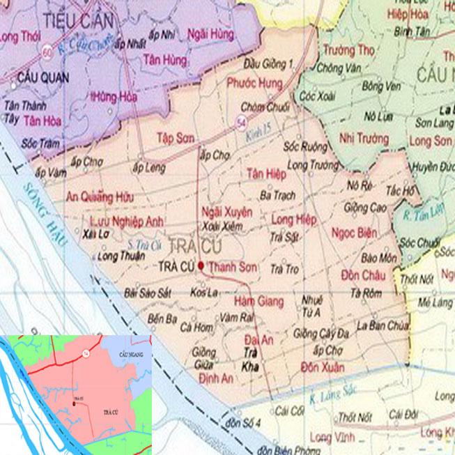 huyện Trà Cú - Tỉnh Trà Vinh