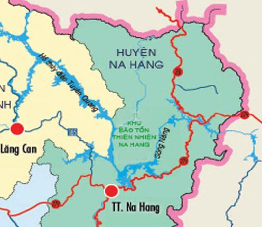 huyện Na Hang - Tỉnh Tuyên Quang