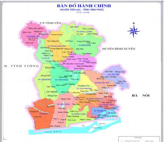 huyện Yên Lạc - Tỉnh Vĩnh Phúc