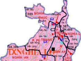 Giới thiệu khái quát thị xã Nghĩa Lộ - Tỉnh Yên Bái