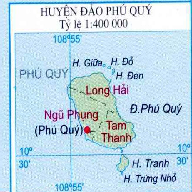 huyện Phú Quý - Tỉnh Bình Thuận