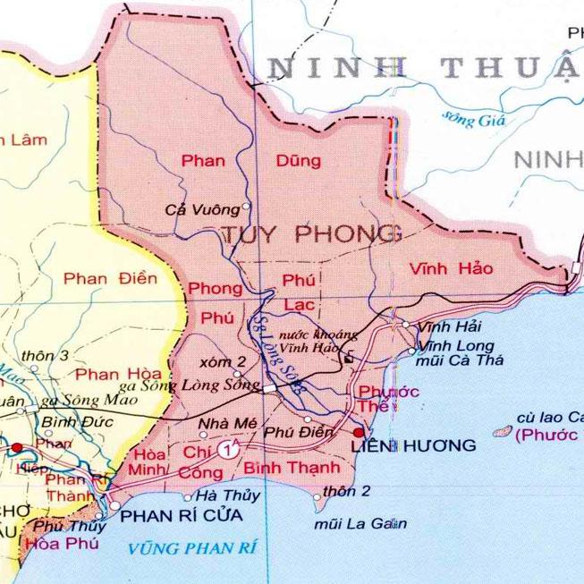 huyện Tuy Phong - Tỉnh Bình Thuận