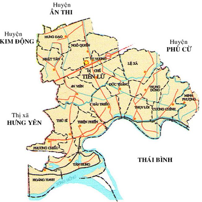 huyện Tiên Lữ - Tỉnh Hưng Yên