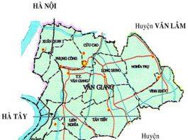 huyện Văn Giang - Tỉnh Hưng Yên