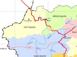 huyện Tây Giang - Tỉnh Quảng Nam