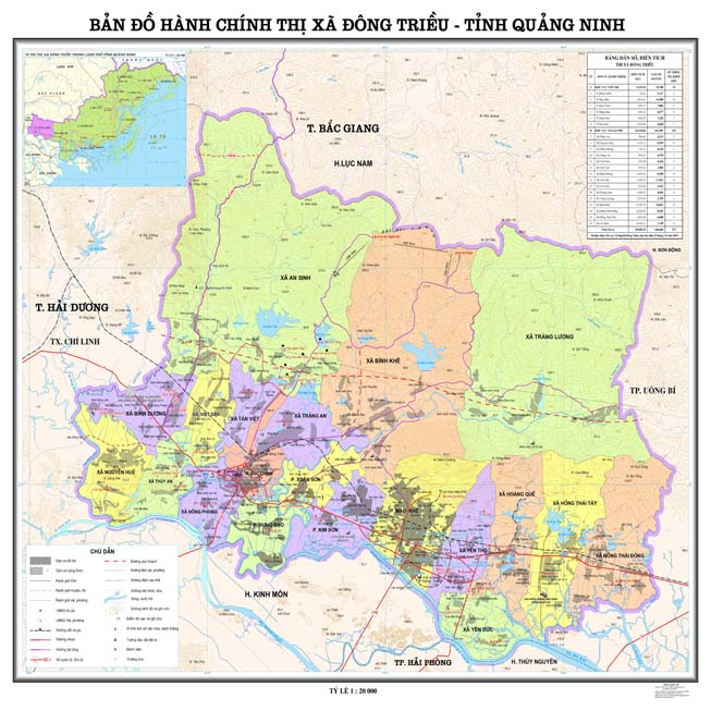 Giới thiệu khái quát Thị xã Đông Triều - Tỉnh Quảng Ninh