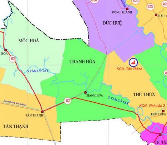 Giới thiệu khái quát huyện Thạnh Hóa