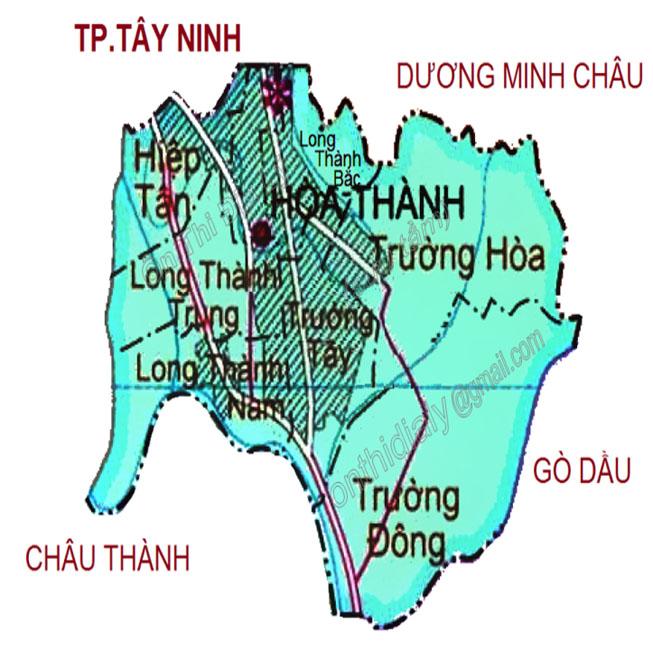 huyện Hòa Thành - Tỉnh Tây Ninh