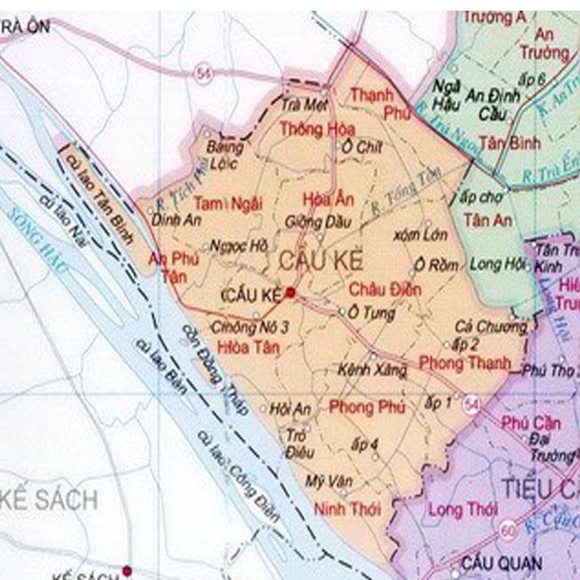 Giới thiệu khái quát huyện Cầu Kè