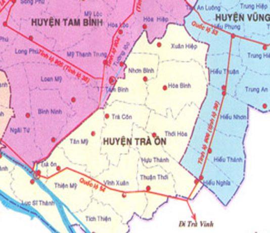 huyện Trà Ôn - Tỉnh Vĩnh Long