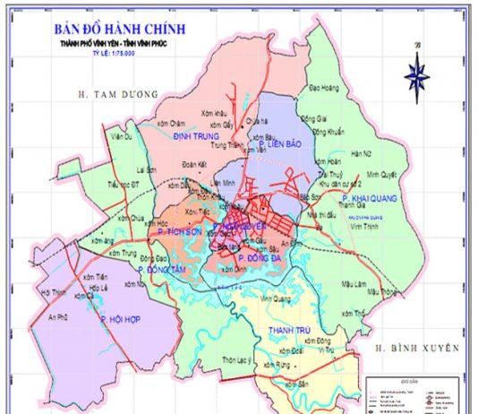 thành phố Vĩnh Yên - Tỉnh Vĩnh Phúc