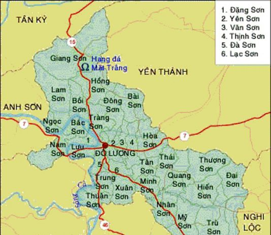 Giới thiệu khái quát huyện Đô Lương