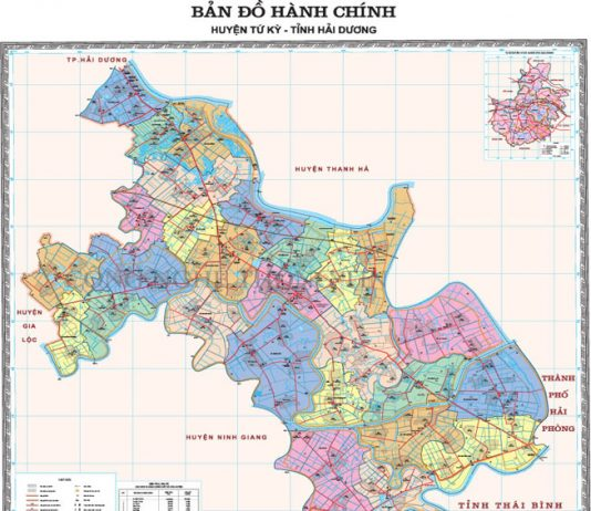 huyện Tứ Kỳ - Tỉnh Hải Dương