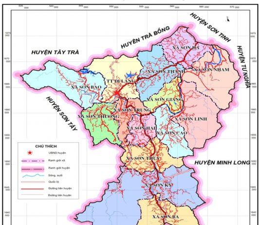 huyện Sơn Hà - Tỉnh Quảng Ngãi