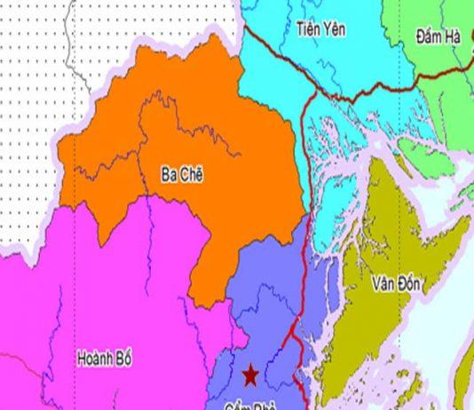 huyện Ba Chẽ - Tỉnh Quảng Ninh