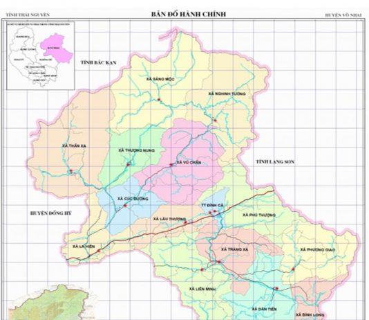 huyện Võ Nhai - Tỉnh Thái Nguyên