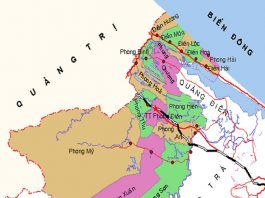huyện Phong Điền - Tỉnh Thừa Thiên Huế