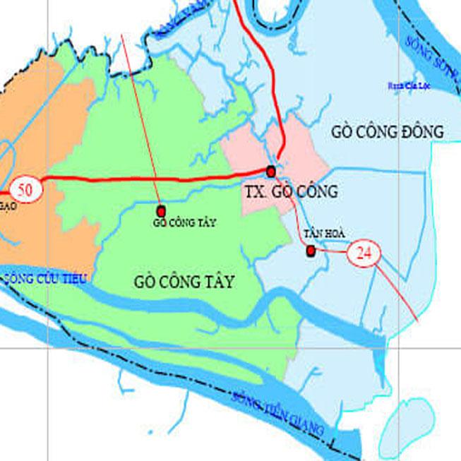 huyện Gò Công Tây - Tỉnh Tiền Giang