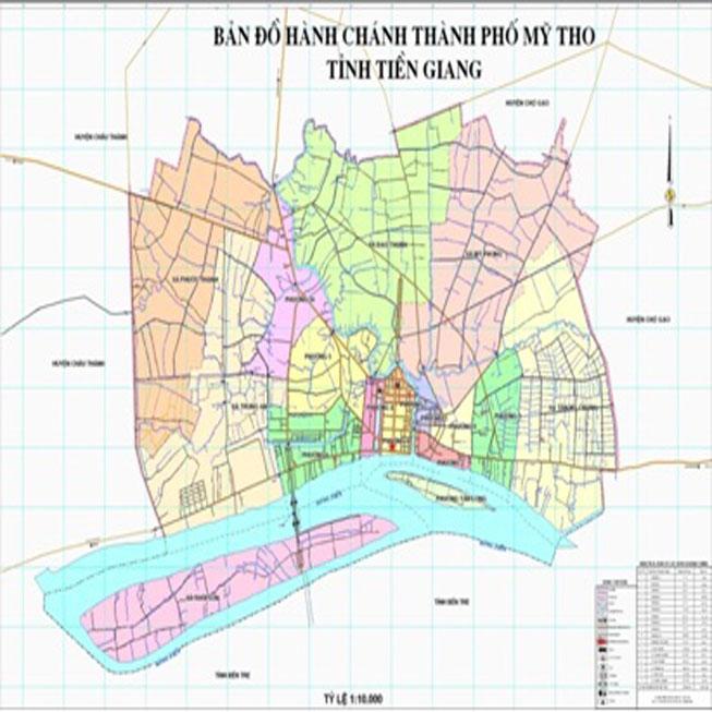 thành phố Mỹ Tho - Tỉnh Tiền Giang