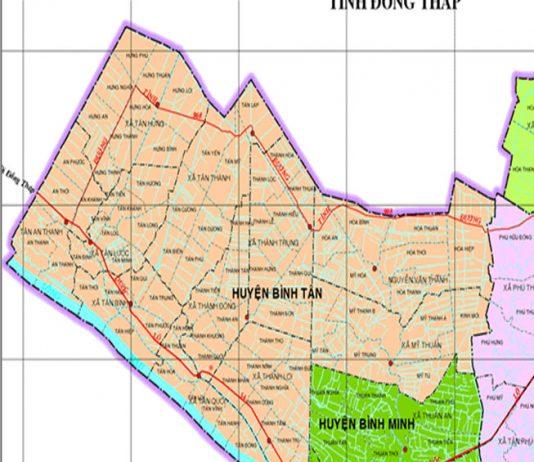 huyện Bình Tân - Tỉnh Vĩnh Long