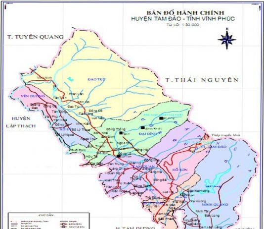 huyện Tam Đảo - Tỉnh Vĩnh Phúc