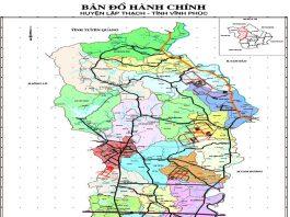huyện Lập Thạch - Tỉnh Vĩnh Phúc