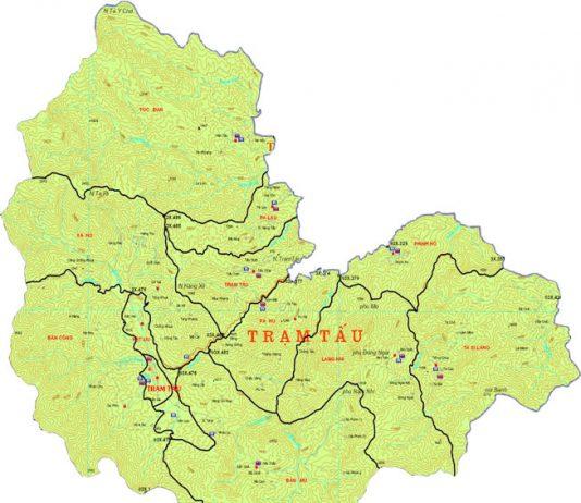huyện Trạm Tấu - Tỉnh Yên Bái