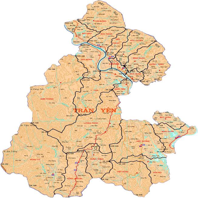 huyện Trấn Yên - Tỉnh Yên Bái