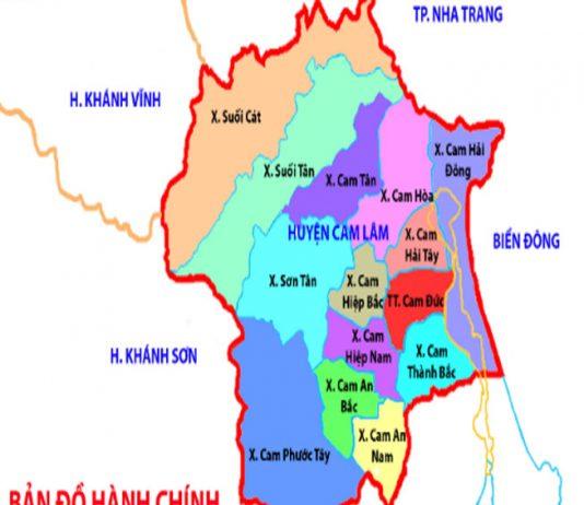 huyện Cam Lâm - Tỉnh Khánh Hòa