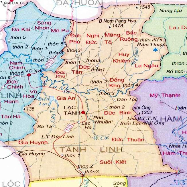 huyện Tánh Linh - Tỉnh Bình Thuận