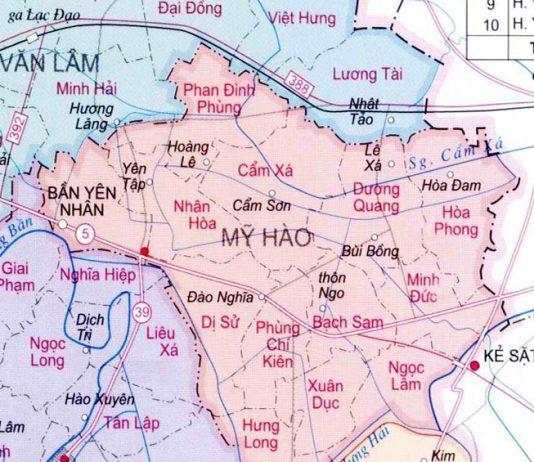 huyện Mỹ Hào - Tỉnh Hưng Yên