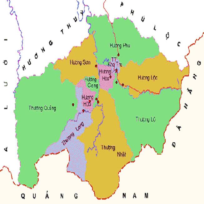 huyện Nam Đông - Tỉnh Thừa Thiên Huế