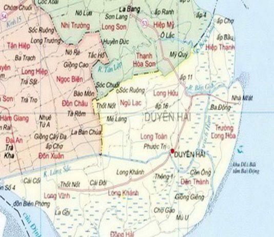 huyện Duyên Hải - Tỉnh Trà Vinh