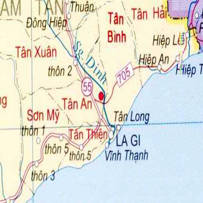 thị xã La Gi - Tỉnh Bình Thuận