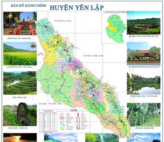 Giới thiệu khái quát huyện Yên Lập