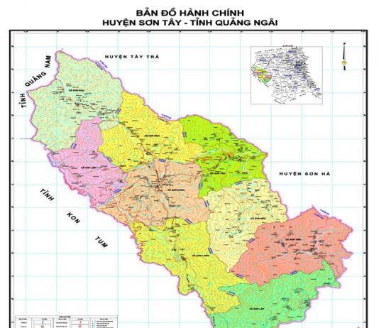 huyện Sơn Tây - Tỉnh Quảng Ngãi