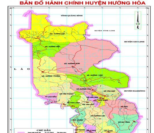 Giới thiệu khái quát huyện Hướng Hoá