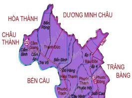 huyện Gò Dầu - Tỉnh Tây Ninh
