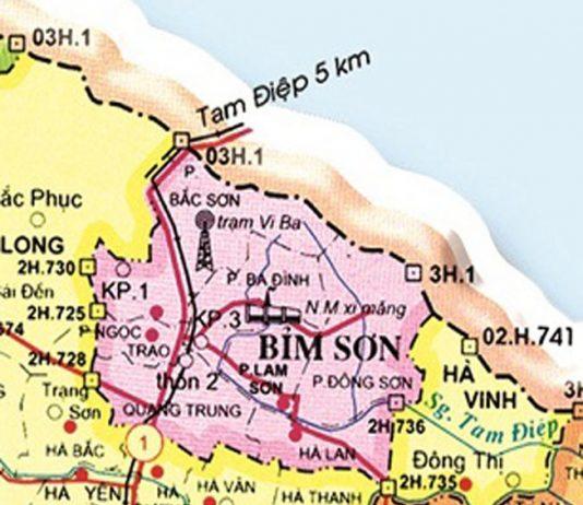 thị xã Bỉm Sơn - Tỉnh Thanh Hóa